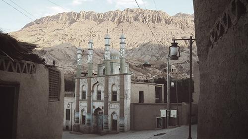 Tuyuq Village Mosque Scenic Shot GU small